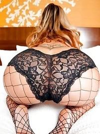 Lingerie big ass booty