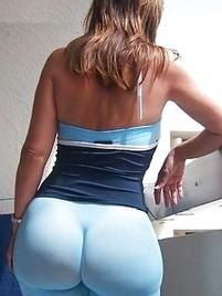 Ass spandex big sexy